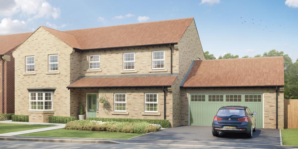 Luxury new homes for sale in Brayton