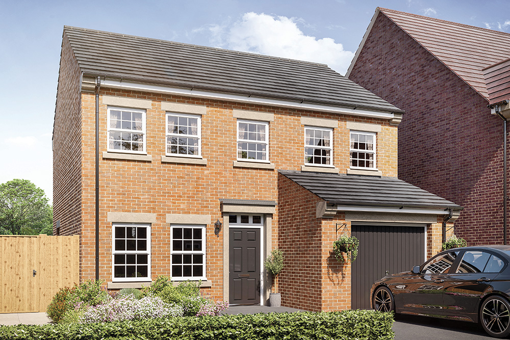 New homes in Penistone - Plot 19 - The Dunstanburgh - Orion Homes
