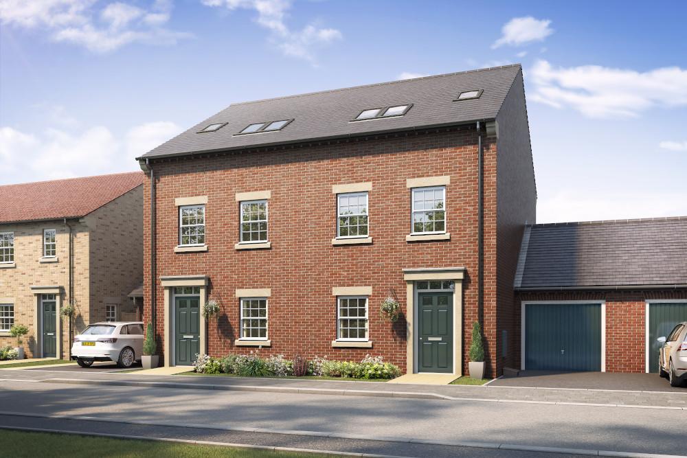 New houses in Gilberdyke